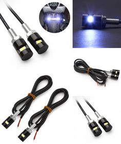 [Visit to Buy] 2Pcs Car Motorcycle Number License Plate Lights 12V LED 5630 SMD Auto Tail Front Screw Bolt Bulbs Lamps Car Styling Light Source #Advertisement