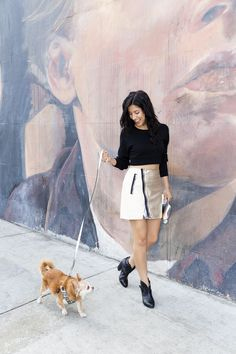 """Stephanie Beatriz #refinery29  http://www.refinery29.com/stephanie-beatriz#slide-5  If you could only wear one outfit for the rest of your life, what would it be? """"A T-shirt, boots, and a leather jacket are really all I need. Oh, except — I carry all my stuff in this big, obnoxious Gucci tote. Four years ago, I got this beat-up, raggedy-looking Gucci tote at a thrift shop in downtown L.A. for a hundred bucks. When I got my first paycheck from the show, I gave myself a new bag. And, of…"""