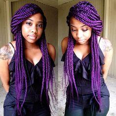 Dark Purple Box Braids Pictures 65 box braids hairstyles for black women Dark Purple Box Braids. Here is Dark Purple Box Braids Pictures for you. Dark Purple Box Braids 121 sophisticated jumbo box braids styles for you. Box Braids Hairstyles For Black Women, Braids For Black Women, Black Braids, Braid Hairstyles, Purple Box Braids, Purple Hair, Dark Purple, Locs, Braided Dreadlocks