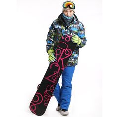 116.20$  Watch more here - http://aiakr.worlditems.win/all/product.php?id=32474843906 - 2016 Printed Ski Jacket Men's Snowboard Pants+Jacket Upgraded Snowboarding Jacket Snow Pants Men Ski Suit Outdoor Skiing Jackets