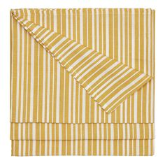 Palermo Stripe Tablecloth - Gold