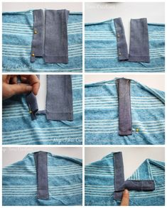 Henley Shirt Placket Tutorial - and free shirt patterns - Nap-time Creations This Pin was discovered by Hil How to sew a pants fly What About Amazing Easy Sewing Projects ? Dress Sewing Patterns, Clothing Patterns, Shirt Patterns, Pattern Sewing, Pants Pattern, Diy Clothing, Techniques Couture, Sewing Techniques, Sewing Tutorials