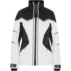 Lacroix Pulse ski jacket (5.020 DKK) ❤ liked on Polyvore featuring white and christian lacroix