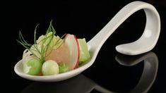 Saibling-Tatar mit Avocadocreme, Gurke, Apfel und Fenchel - The Taste - Sat.1