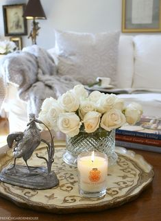 Warm up your house decor with candles. You are in the ideal place about heat res. Warm up your house decor with candles. Living Room Candles, Bedroom Candles, French Country Christmas, Christmas Home, Christmas 2019, Warm Home Decor, Luxury Candles, French Country Decorating, Elegant Homes