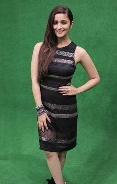 Alia Bhatt at the India Today Mediaplex to promote 'Humpty Sharma Ki Dulhaniya'. #Style #Bollywood #Fashion #Beauty