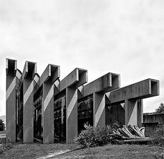Arthur Erickson Architects | UBC Museum of Anthropology, 1971-76 Vancouver.