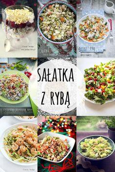 Sałatka z rybą - 20 pomysłów Calzone, Overnight Oats, Acai Bowl, Meal Prep, Grilling, Salads, Recipies, Lunch Box, Food And Drink