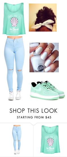 """""""GM"""" by lexiswagg on Polyvore featuring Wildfox and NIKE"""