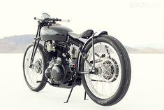 Jeff Decker's impossibly beautiful Vincent Black Lightning custom.