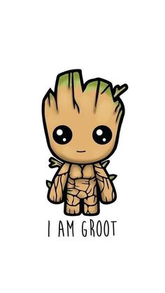 I am Groot! I am Groot. I am Groot. I am Groot. I am Groot. :) I am Groot. Cute Cartoon Wallpapers, Cute Wallpaper Backgrounds, Wallpaper Iphone Cute, Baby Wallpaper, Wallpaper Wallpapers, Iphone Wallpaper Marvel, Unique Wallpaper, White Wallpaper, Animal Wallpaper