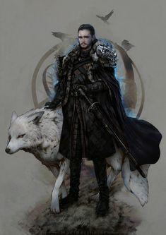 ArtStation - Game of Thrones - Jon Snow, Max Berthelot