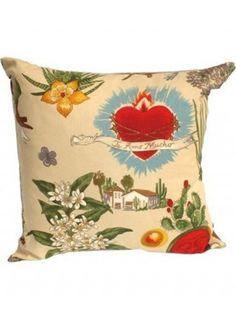 Frida Kahlo Throw Pillow XL by Hemet