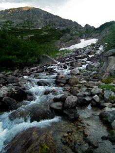 Yukon highlands. Chilkoot Trail, near Sheep Camp.