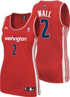 John Wall Women s Jersey  adidas Red Replica  2 Washington Wizards Women s  Jersey dfc79906d