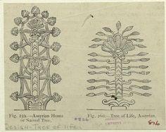 Assyrian homa, or sacred tree ; Tree of life, Assyrian. (1897)