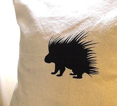 I need a porcupine pillow please.