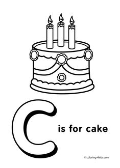 letter c coloring pages alphabet coloring pages c letter words for kids