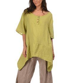 Couleur Lin Red Sheryl Linen Dress | Linen dresses and Clothes