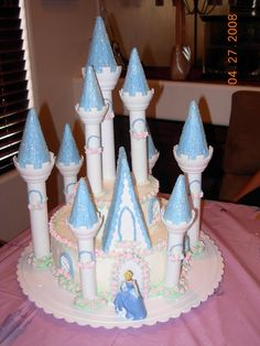 Cinderella Cake — Childrens Birthday Cakes