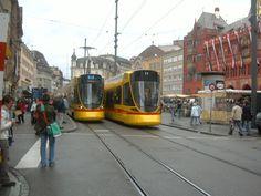 Tram station Marktplatz Basel