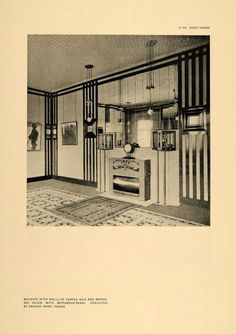 interior Mackintosh Furniture, Vienna Secession, Lovely Things, Art Deco Fashion, Arts And Crafts, Interiors, Design, Home Decor, Style