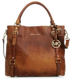 Michael Kors Bedford Ostrich Tote....I wish I may, I wish I might, have this wish i wish tonight :) Michaelkor is on clearance sale, the world lowest price. --The best Christmas gift