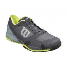 Wilson Rush Pro 2.5 Clay WRS322660 tennisschoenen heren ebony limepunch @wilsontennis #tennis #wilson #tennisschoenen