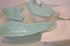 Your place to buy and sell all things handmade Serving Plates, Serving Dishes, Corn Dishes, Ears Of Corn, Light Turquoise, Pottery, California, China, Shapes