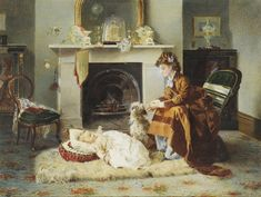 Alexander Mark Rossi (British, 1840-1916)