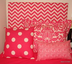 hot pink custom #dorm room bedding