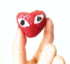 For your snacking pleasure—Comme des Garçons.