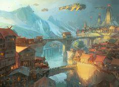 Ciudades futuristas - Alex Wild