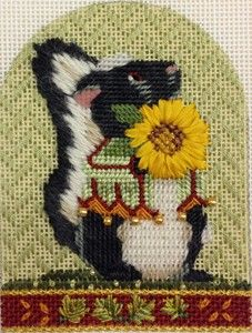 Stitch guide by Paula Fehleison...from Melissa Shirley's Autumn Critters Collection