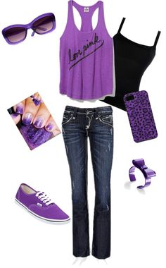 """Purple Outfit"" by jmcmercedes on Polyvore"