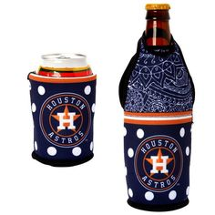 Houston Astros Either/Or Can or Bottle Insulator Cooler