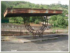 Bus-Stop in Kapan, Armenia