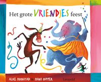 Het grote vriendjesfeest Disney Characters, Fictional Characters, Moose Art, Play Therapy, Alice, Cover, Carnival, Animaux, Livres