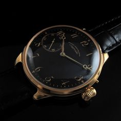 Men's 1920 A. LANGE & SOHNE UHRENFABRIK - GLASHUTTE I/S Vintage QUALITY Watch