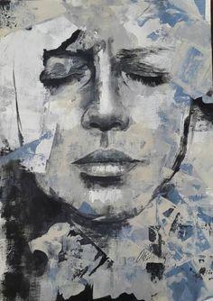 "Saatchi Art Artist Ulku Yilmaz; Painting, ""Controversy"" #art"