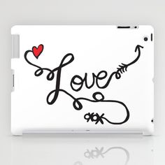 All You Need Is... iPad Case by Chelsea Perry