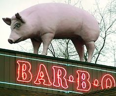 Old Hickory Pit , Louisville, Ky Vintage Advertising Signs, Vintage Advertisements, The Earl Of Sandwich, Neon Sign Art, Vintage Neon Signs, Pig Art, Neon Light Signs, Old Signs, Cat People