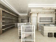 Shop interior design - Oman by Nikolina Barberic, via Behance