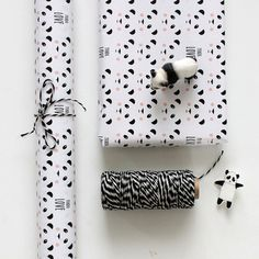PANDA PAPER WRAPPING 50x70 cm 90 grams 3 door Lepetitbiscuitshop, €6.50