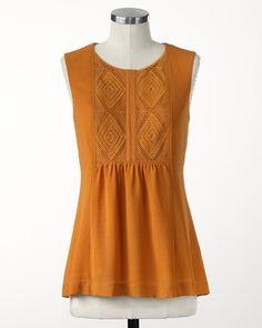 Tradewinds crochet top on shopstyle.com