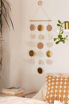 DIY Wanddekoration aus Metall