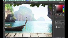 Photoshop CC Single Column Marquee Tool Tutorial - Video