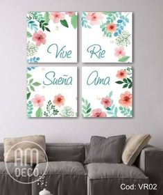 Discover recipes, home ideas, style inspiration and other ideas to try. Abstract Canvas Art, Acrylic Art, Canvas Wall Art, Watercolor Projects, Floral Printables, Paint Colors For Home, Fabric Painting, Cute Wallpapers, Home Art