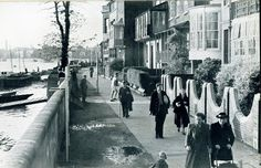 The Mall Old London, West London, Shepherds Bush, Fulham, Slums, Local History, Old City, Old Photos, Mall