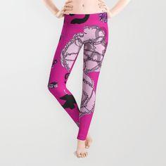 Artist brittmarks designed this wonderful fanny legging.